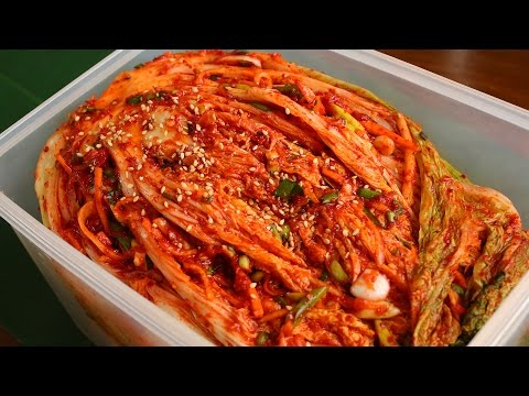 Get Traditional kimchi recipe (Tongbaechu-kimchi: 통배추김치) Pictures