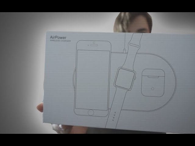 Unboxing Apple AirPower clone