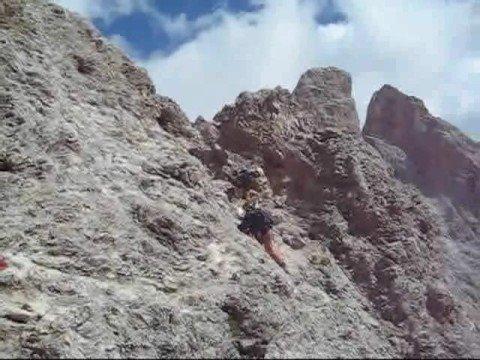 Sass Rigais Klettersteig Villnöss : Bergtour klettersteig sas rigais youtube