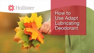 How to use Adapt Lubricating Deodorant | Hollister