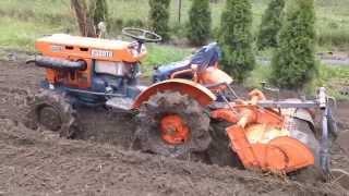 Kubota 6001 ciągniczek ogrodniczy w AKCJi. www.traktorki-japonskie.waw.pl