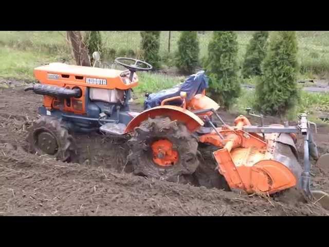 Kubota 6001 ci?gniczek ogrodniczy w AKCJi. www.traktorki-japonskie.waw.pl