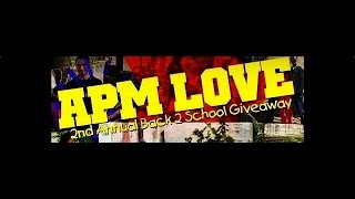 APM 2nd Annual Back to School Giveaway