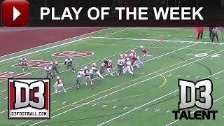 D3football.com Play of the Week: Frostburg Fake