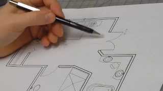 How to Draw an Architectural Interior Elevation