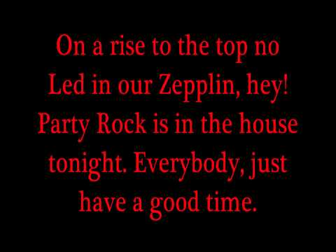 LMFAO ft. Lauren Bennett & GoonRock - Party Rock Anthem (Lyrics) HD