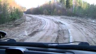 Дорога Вельск - Кизема (Архангельская область)