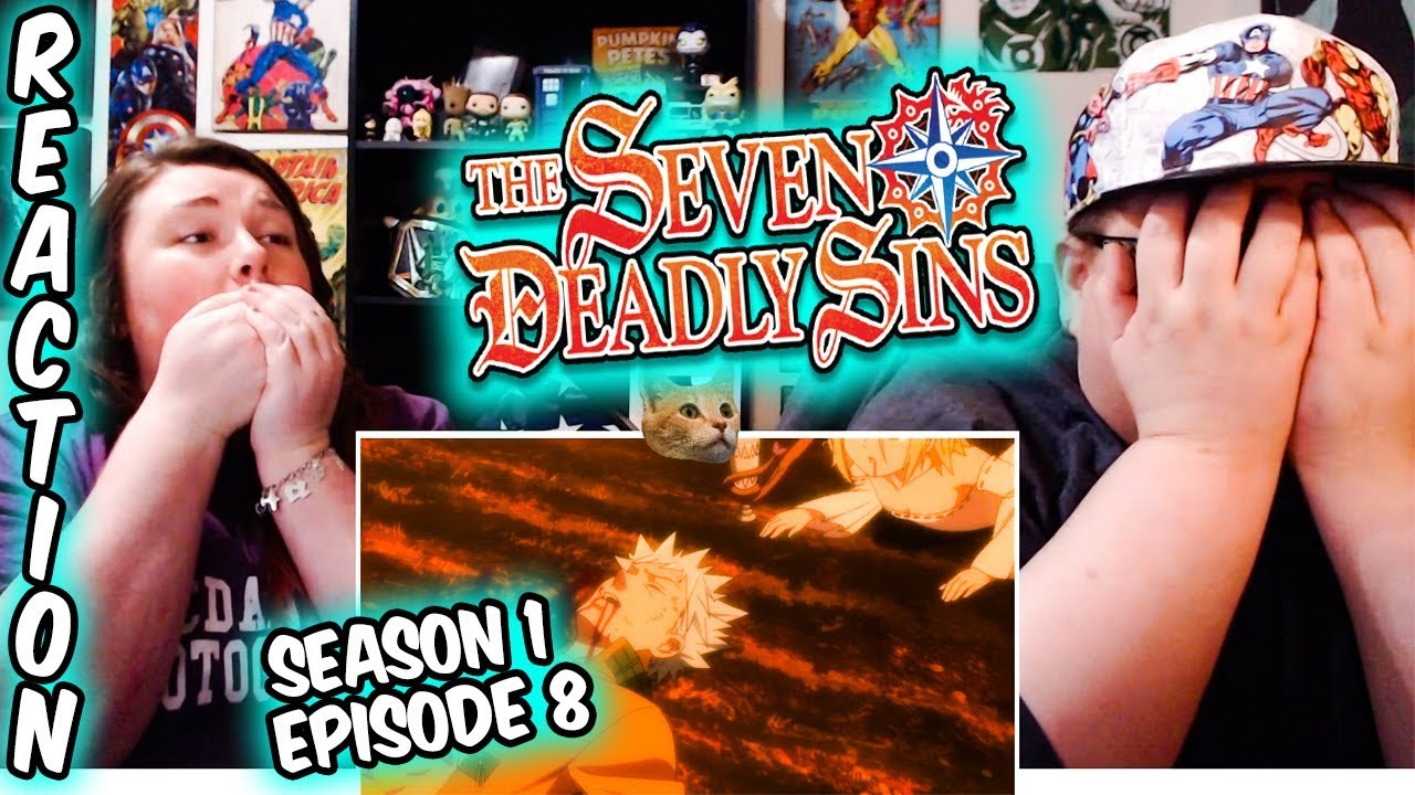 """Download The Seven Deadly Sins 1x8 REACTION!! """"The Fearsome Pursuer"""""""