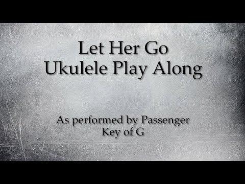 Let Her Go Ukulele Play Along