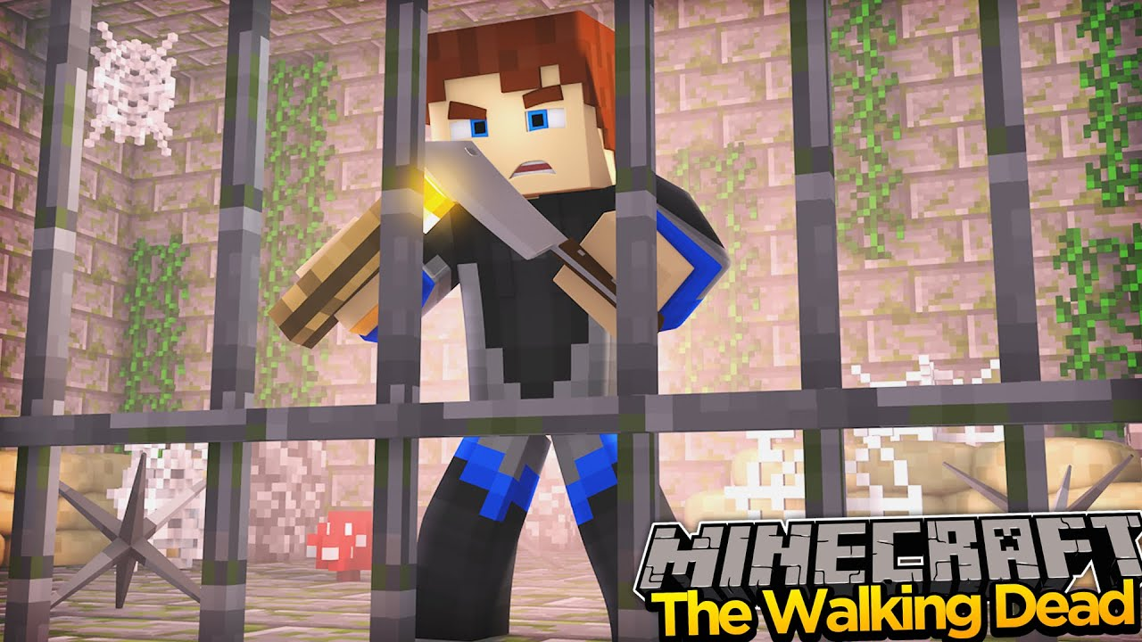 Minecraft THE WALKING DEAD - IS THIS THE END OF SCUBA STEVE!??