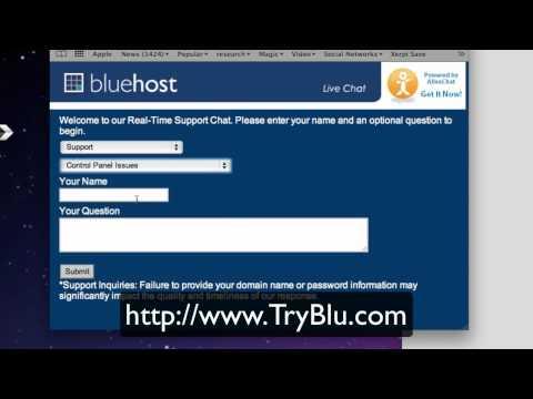 Bluehost - Best Web Host Live Chat Hosting Help