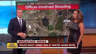 Police shoot man who pointed gun at them at Winter Haven motel