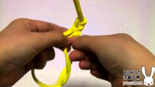 How to make aiguillette 1 for costume plays 飾緒の作り方その1