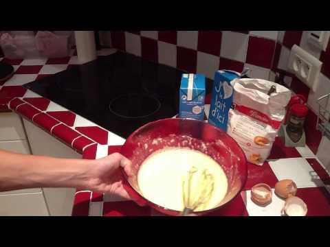 Faire des crêpes maison  - crêpes pour 3/4 personnes