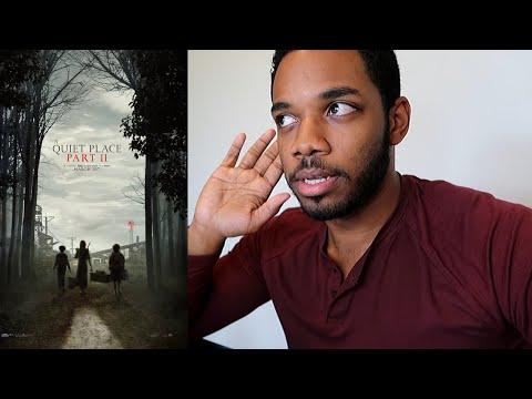 (BONUS VLOG) A Quiet Place Part 2 Trailer 2 Reaction!