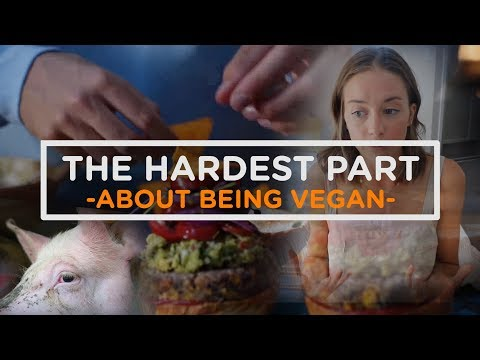 (New) The Hardest Part About Being Vegan Part 2
