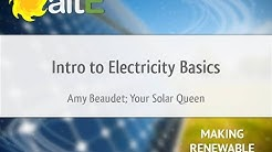 Introduction to Electricity Basics (First step to Solar)