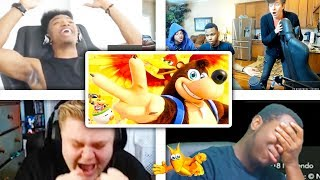 All Reactions to BANJO-KAZOOIE Reveal Trailer - Super Smash Bros. Ultimate
