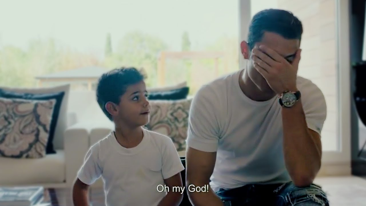 Cristiano Ronaldos Sohn Kennt Seinen Eigenen Namen Nicht