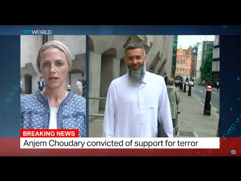 Anjem Choudary receives five and a half years in jail for support of terror