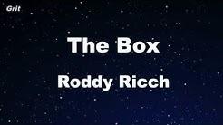 Karaoke♬ The Box - Roddy Ricch 【No Guide Melody】 Instrumental