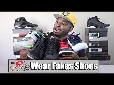 Do's and Don'ts To Wearing Fake Shoes!