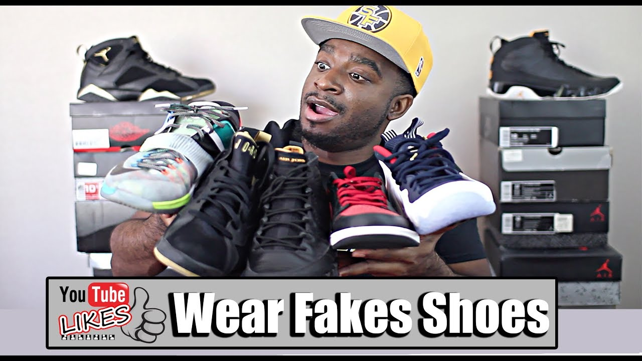 f1cb18e48 Do s and Don ts To Wearing Fake Shoes! - YouTube