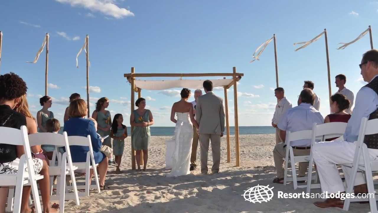 The Winds Resort Beach Club Wedding