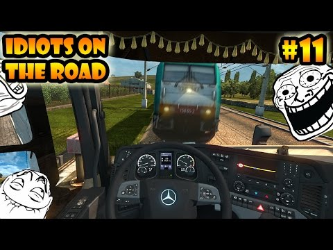 ★ IDIOTS On The Road #11 - ETS2MP | Funny Moments - Euro Truck Simulator 2 Multiplayer