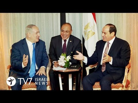 Netanyahu meets with al-Sisi to discuss cease-fire with Hamas - TV7 Israel News 14.8.18