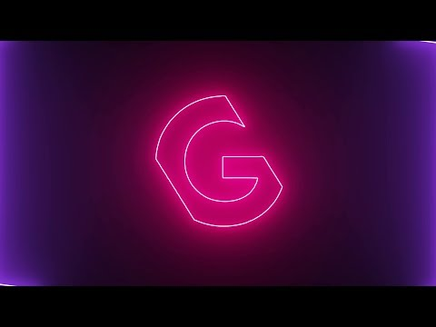 Neon Logo Reveal Tutorial    After Effects    Saber Plugin