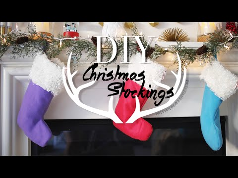 Diy Cute Easy Holiday Stockings Home Decor Ann Le