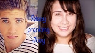 Stacy Pranking Joey Graceffa | Minecraft