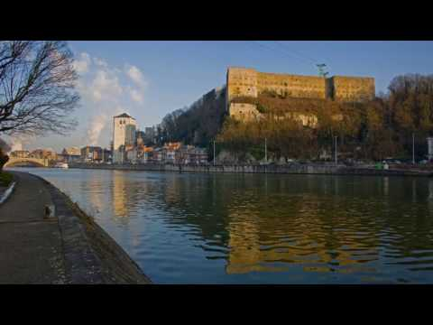 Huy, beautiful city in belgium, Meuse, , Mur de Huy, Citadel de Huy, Walloon, La Flèche Wallonne
