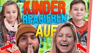 KINDER reagieren auf VIDEOS von Kelly & Sturmwaffel!