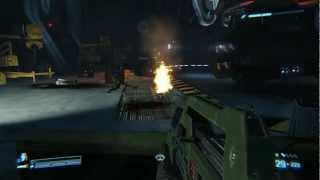 Aliens: Colonial Marines Gameplay max settings 1080p