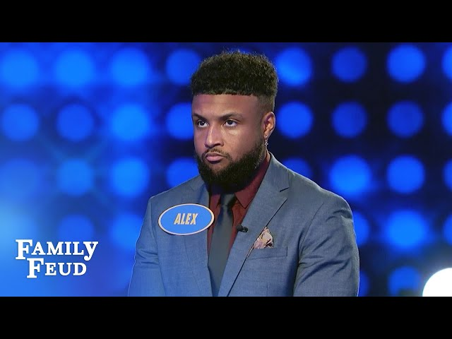 #2 player nails most of the #1 answers! | Family Feud