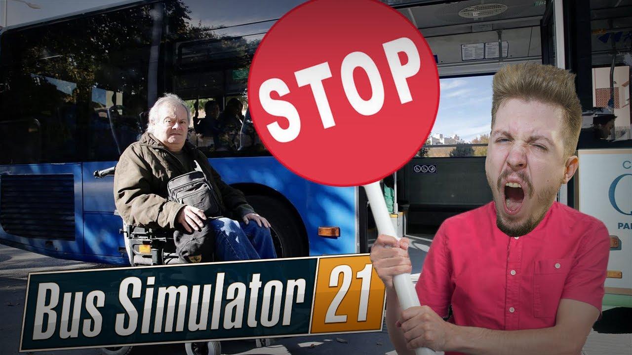 Zostawiłem inwalidę NA ULICY! (Bus Simulator 21)