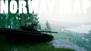 New Massive Skorpo Norway Map - Squad V12 Gameplay