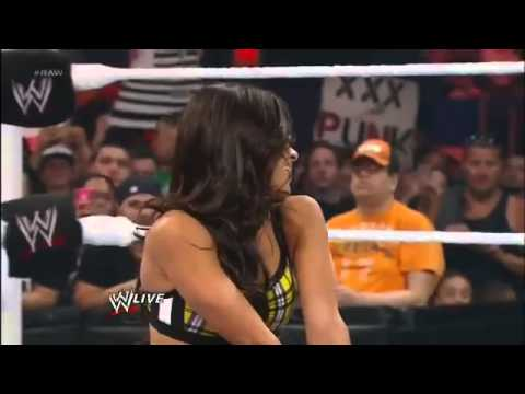 A J  Lee's Kisses In WWE