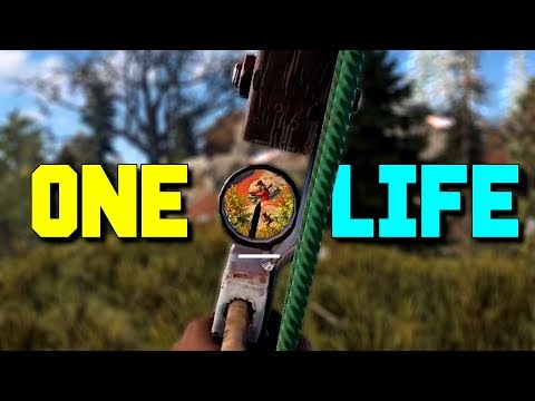 ONE LIFE - Rust Solo Survival Part 1