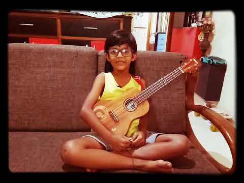 Jake Dias - Ukulele | Count On Me By Bruno Mars | 8yrs Old | Song Is Dedicated To All His Friends