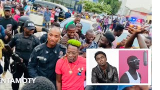 Shatta Wale Refuses To Perform Because of Bosom & Kweku Smoke - Ghana Police
