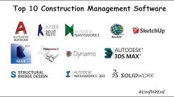 Top 10 Construction Management Software I 2018