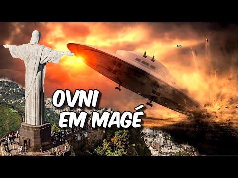 OVNI caiu em Magé - RJ   GOVERNO ESCONDEU AS PROVAS!