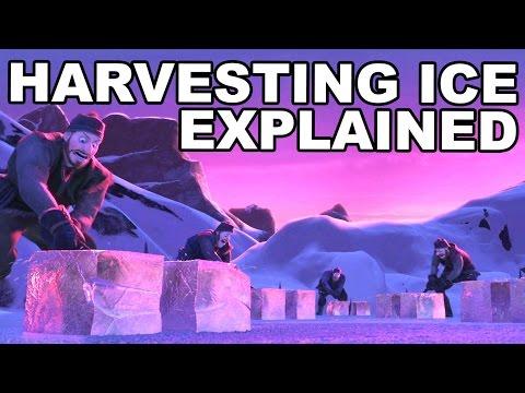 Frozen's Ice Harvesting Scene Explained