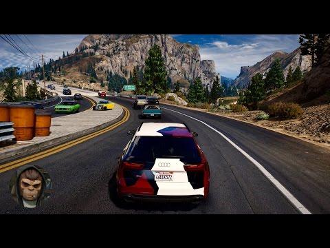 ► GTA 6 Graphics ✪ REDUX - Audi RS6 Performance 2017! Ultra Realistic Graphics MOD PC - 60FPS