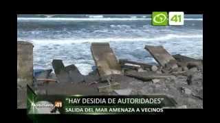 Salida de mar amenaza a veicnos de Buenos Aires - Trujillo