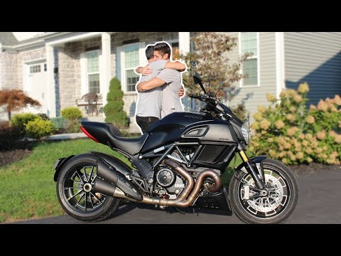 Surprising My Dad with His Dream Bike!!!