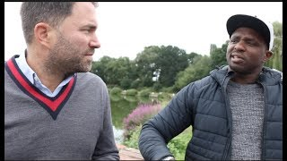'I KNOW ANTHONY JOSHUA IS YOUR MAN' - DILLIAN WHYTE TO EDDIE HEARN *RAW & UNCUT*/ (EXPLICIT CONTENT)